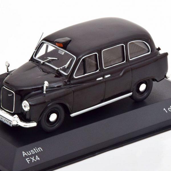 "Austin FX4 ""London Taxi"" 1985 Zwart 1-43 Whitebox Limited 1000 Pieces"