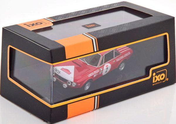 Lancia Fulvia 1600 Coupe HF Winner Rally San Remo 1972 Ballestrieri/Bernacchini 1-43 Ixo Models