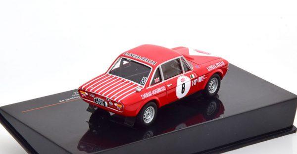 Lancia Fulvia 1600 Coupe HF No.8, Rally San Remo 1972 Munari/Mannucci 1-43 Ixo Models