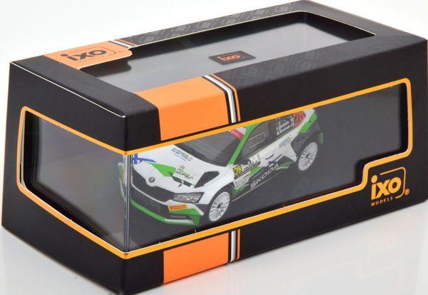 Skoda Fabia R5 Evo No.28, ACI Rally Monza 2020 Lindholm/Korhonen 1-43 Ixo Models