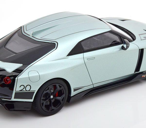 Nissan GT-R50 2021 Helgroen Metallic 1-18 GT Spirit Limited 1100 Pieces