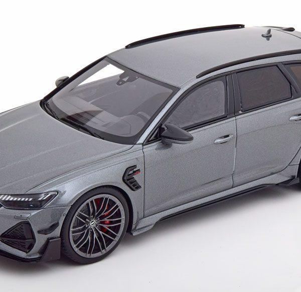 Audi ABT RS6-R Avant 2020 Grijs Metallic 1-18 GT Spirit Limited 2100 Pieces