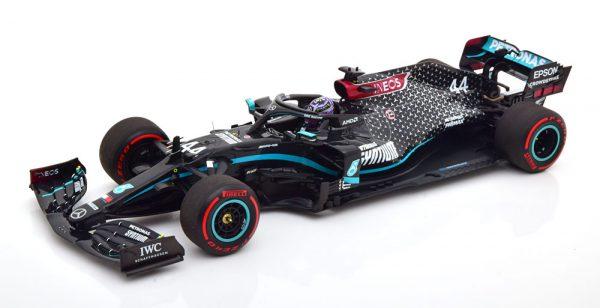 Mercedes-AMG Petronas Formula 1 Team F1 W11 EQ Performance Winner Tuscan GP 2020 Lewis Hamilton World Champion 1-18 Minichamps Limited 1002 Pieces