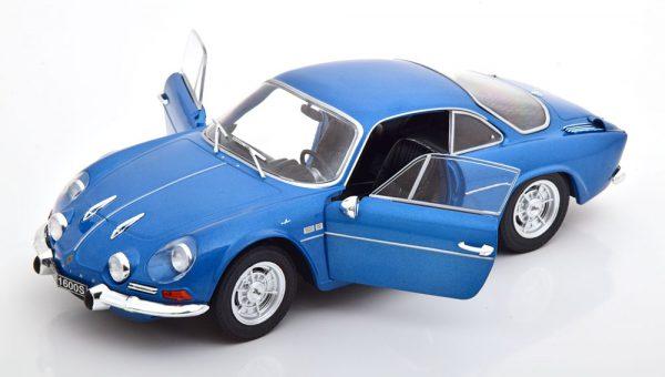 Renault Alpine A110 1600S 1969 Blauw 1-18 Solido