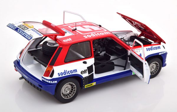 Renault 5 Turbo No.2, Rally d´Antibes 1983 Therier/Vial 1-18 Solido