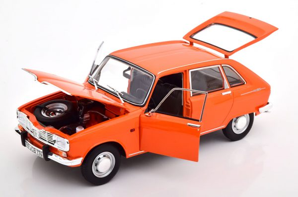 """Renault 16 TS 1971 Oranje """"Colours of the 70S"""" 1-18 Norev Limited 500 Pieces"""