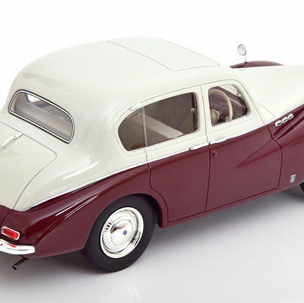 Sunbeam Surpreme MKIII ( RHD ) 1954 Beige / Donkerrood 1-18 Cult Scale Models ( Resin )