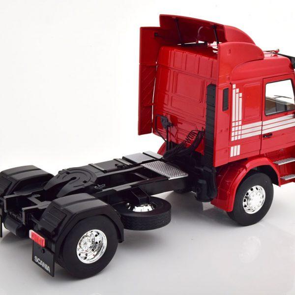 Scania 143 Topline 1987 Rood 1-18 MCG Models ( Metaal )