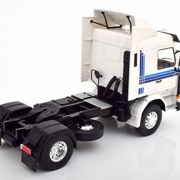 Scania 143 Topline 1987 Wit 1-18 MCG Models ( Metaal )