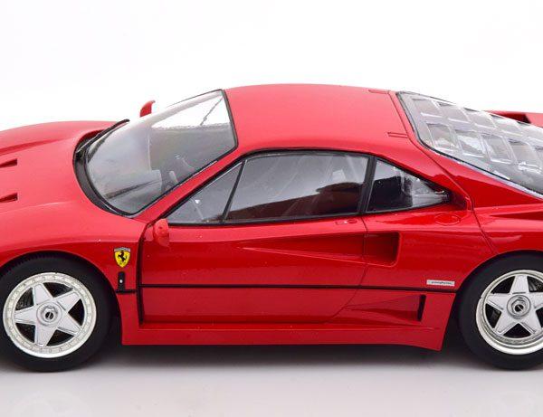 Ferrari F40 1987 Rood 1-18 KK Scale ( Metaal )