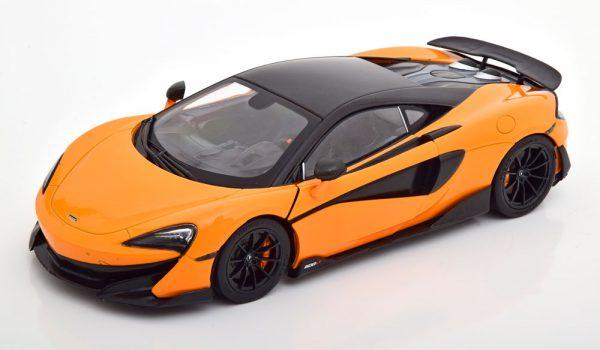 McLaren 600LT Coupe 2018 Oranje 1-18 Solido