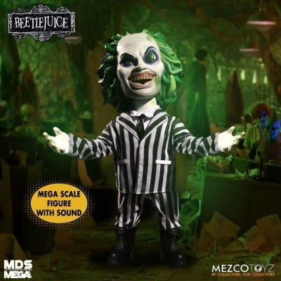 """Beetlejuice MDS Mega Scale Doll with Sound """"15 Inch"""" Mezco Toys"""
