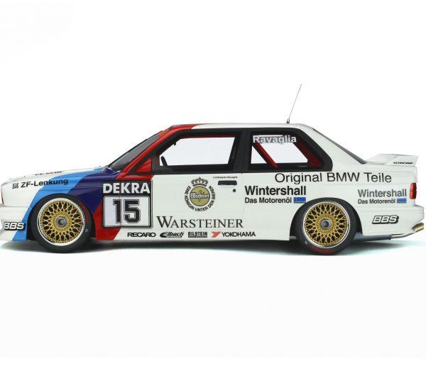 """BMW M3 (E30) Sport Evolution #15 """"Warsteiner"""" Winner DTM 1989 R. Ravaglia 1:12 Ottomobile Limited 1999 Pieces"""