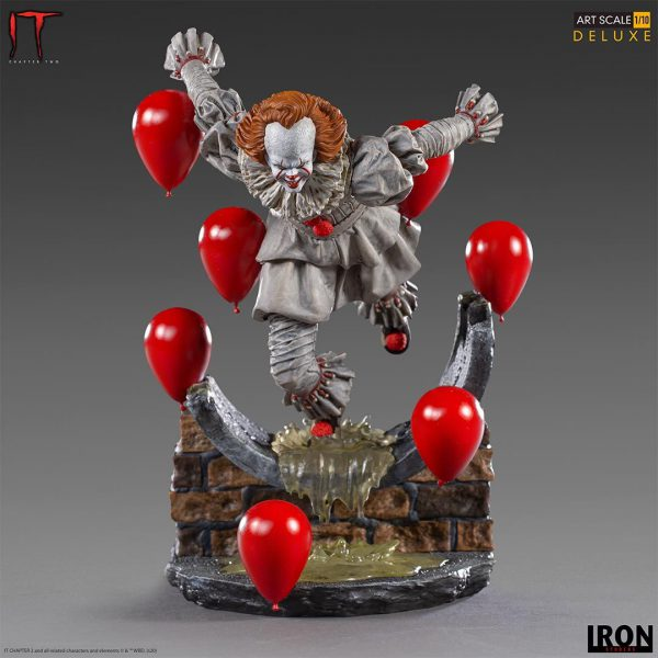 IT Chapter Two: Pennywise 1:10 Scale Statue #Ironstudios