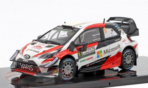 Toyota Yaris WRC #9 3e Rallye Italië Sardinië 2018 E.Lappi / J.Fern 1:43 Ixo Models