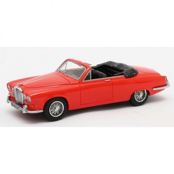 Jaguar 420 Harold Radford Convertible 1967 Rood 1-43 Matrix Scale Models Limited 408 pcs.