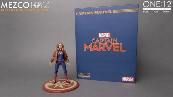 Captain Marvel One:12 Collective Action Figure ( 1-12 Scale ) Mezco Toys
