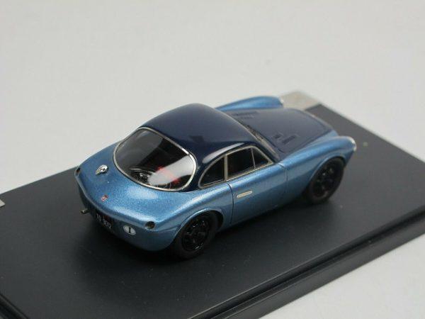 Moretti-Fiat 750 Grand Sport 1954 2-Tone Blauw 1-43 Matrix Scale Models Limited