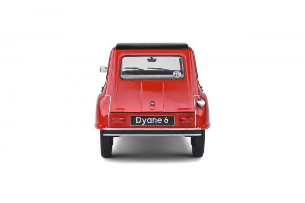 Citroen Dyane 6 1968 Rood 1-18 Solido