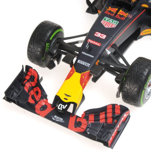 Red Bull Racing TAG Heuer RB12 #33 Max Verstappen 3rd Place Brazilian GP 2016 1-18 Minichamps Limited Edition of 750 pcs.