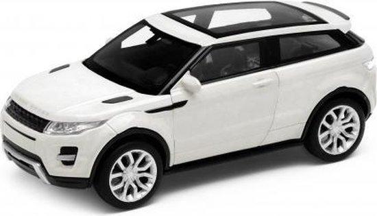 Range Rover Evoque 2011 Wit 1:18 Welly GT Autos