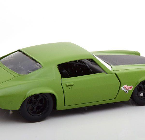 "Chevrolet Camaro RS Z28 ""Fast & Furious"" Dom's 1973 Groen 1-32 Jada Toys"