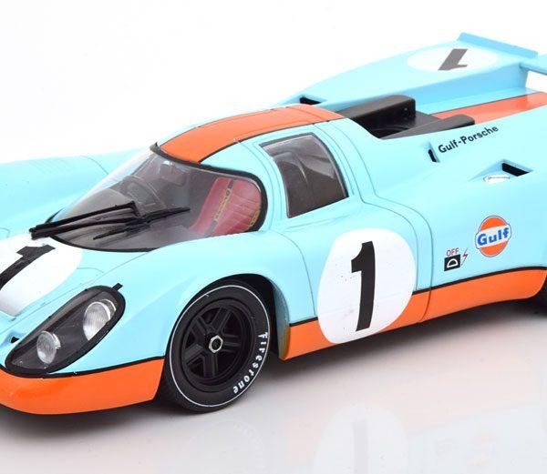 """Porsche 917K No.1, 24Hrs Daytona 1970 """"Gulf"""" Siffert/Redman 1-18 CMR Models"""