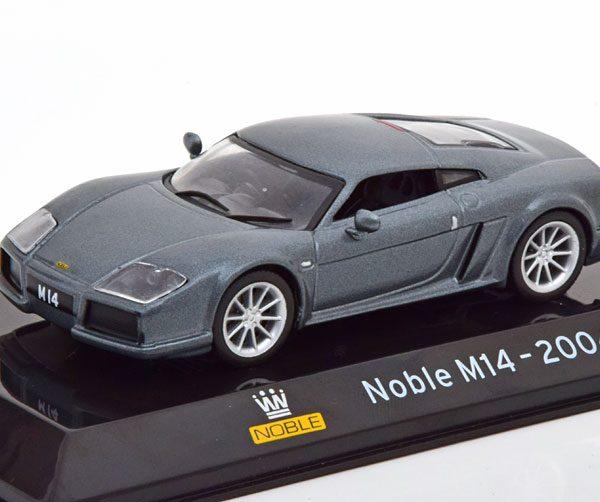 Noble M14 2004 Grijs Metallic 1-43 Altaya Supercars Collection