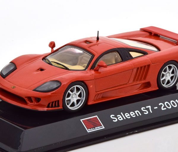 Saleen S7 2001 Oranje Metallic 1-43 Altaya Supercars Collection