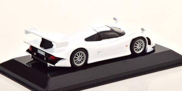 Porsche 911 (996) GT1 Street 1998 Wit 1-43 Altaya Supercars Collection