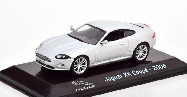 Jaguar XK Coupe 2006 Zilver 1-43 Altaya Supercars Collection