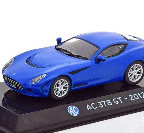 AC 378 GT 2012 Blauw 1-43 Altaya Supercars Collection