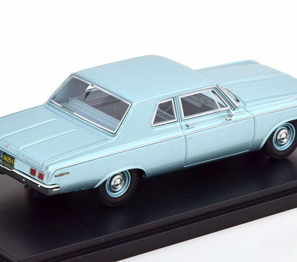 Dodge 330 Sedan 1964 Blauw Metallic 1-43 Neo Scale Models ( Resin )