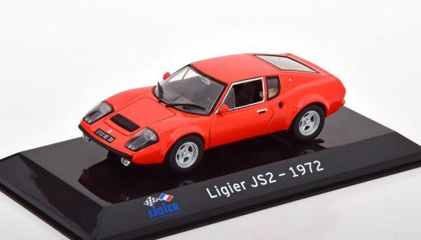 Ligier JS2 1972 Rood 1-43 Altaya Supercars Collection