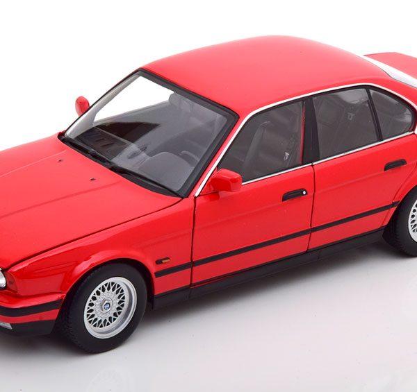 BMW 535I ( E34 ) 1988 Rood 1-18 Minichamps