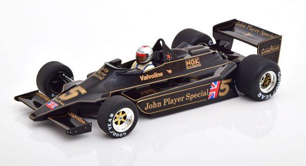 Lotus 79 Winner Belgium GP 1976 ( Circuit Zolder ), World Champion Mario Andretti 1-18 MCG Models