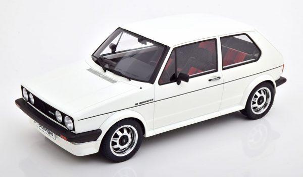 Volkswagen Golf A1 Oettinger 1982 Alpine White 1-12 Ottomobile Limited 999 Pieces