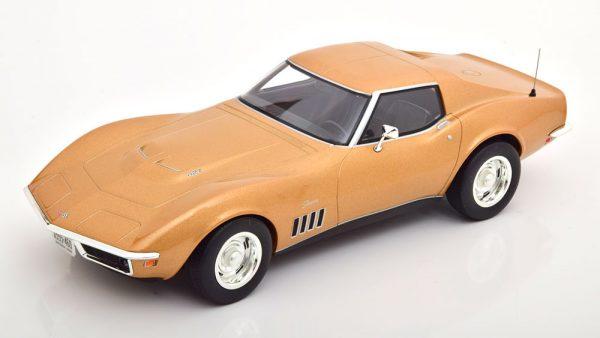 Chevrolet Corvette C3 1969 Goud Metallic 1-18 Norev