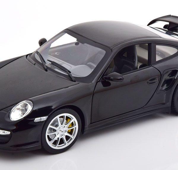 Porsche 911 (997) GT2 2007 Zwart 1-18 Norev