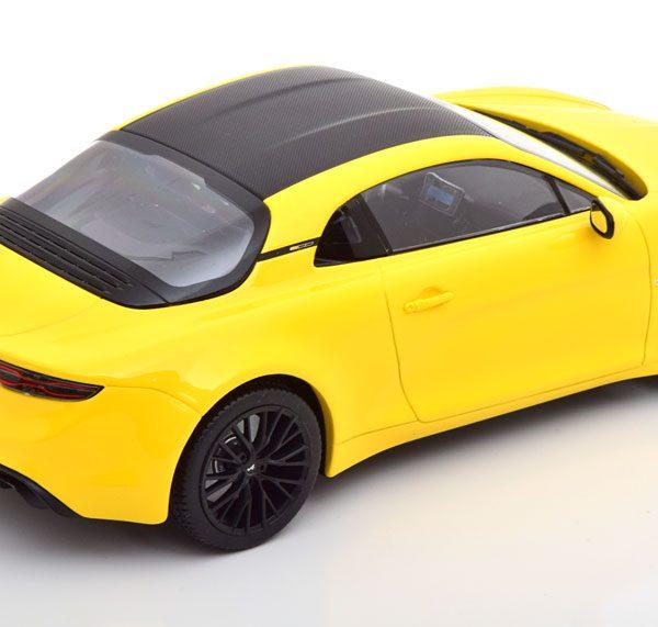 """Renault Alpine A110 """"Edition Color"""" 2020 Geel 1-18 Norev"""