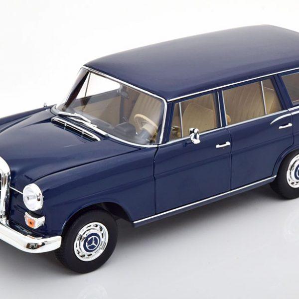 Mercedes-Benz 200 Universal 1966 Donkerblauw 1-18 Norev
