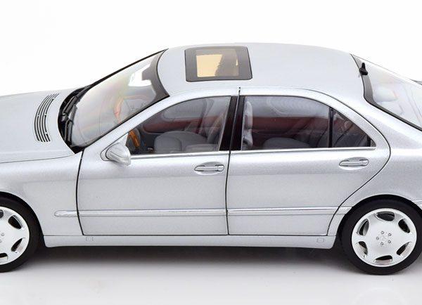 Mercedes-Benz S600 ( W220 ) 1998 Zilver 1-18 Norev