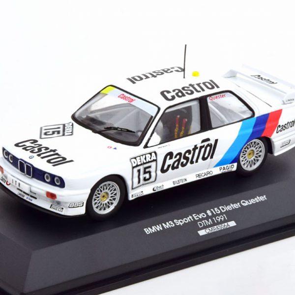 BMW M3 E30 No.15, DTM 1991 Dieter Quester 1-43 CMR Models