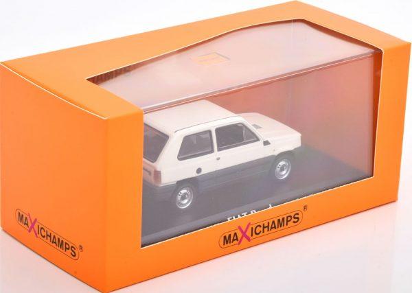Fiat Panda 34 1980 Wit 1-43 Maxichamps