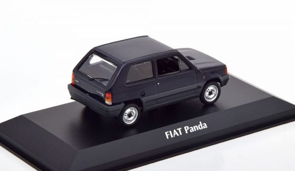 Fiat Panda 34 1980 Donkerblauw 1-43 Maxichamps