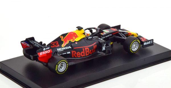 Aston Martin Red Bull Racing RB16B Winner GP Abu Dhabi 2020 Max Verstappen 1-43 Burago Racing Series