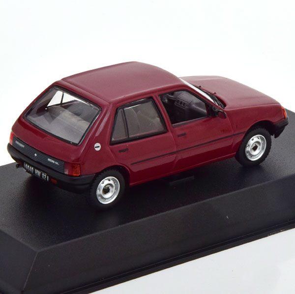 Peugeot 205 GL 1988 Dark Red 1-43 Norev