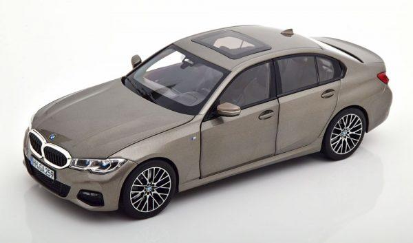 BMW 330i ( G20 ) Limousine 2020 Zilvergrijs Metallic 1-18 Norev