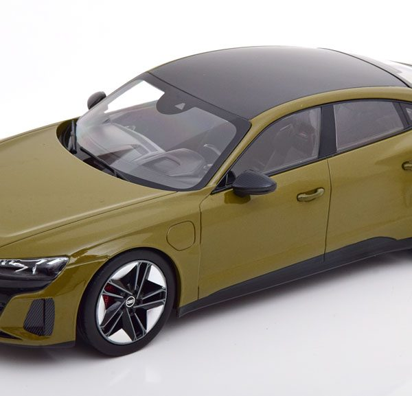 Audi RS E-Tron GT 2021 Olive-Groen 1-18 Norev