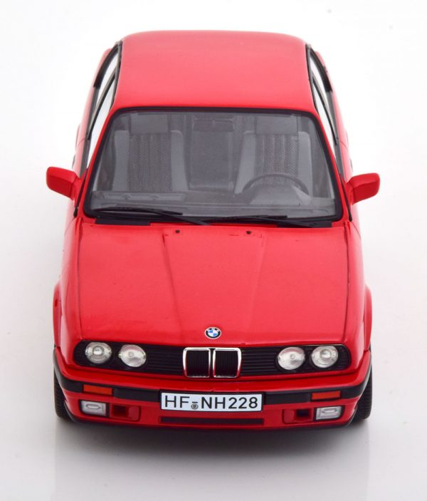 BMW 325i E30 Limousine 1988 Rood 1-18 Norev Limited 1000 Pieces